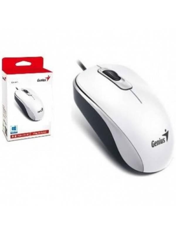 MOU113 - Mouse Genius DX-110 USB Blanco