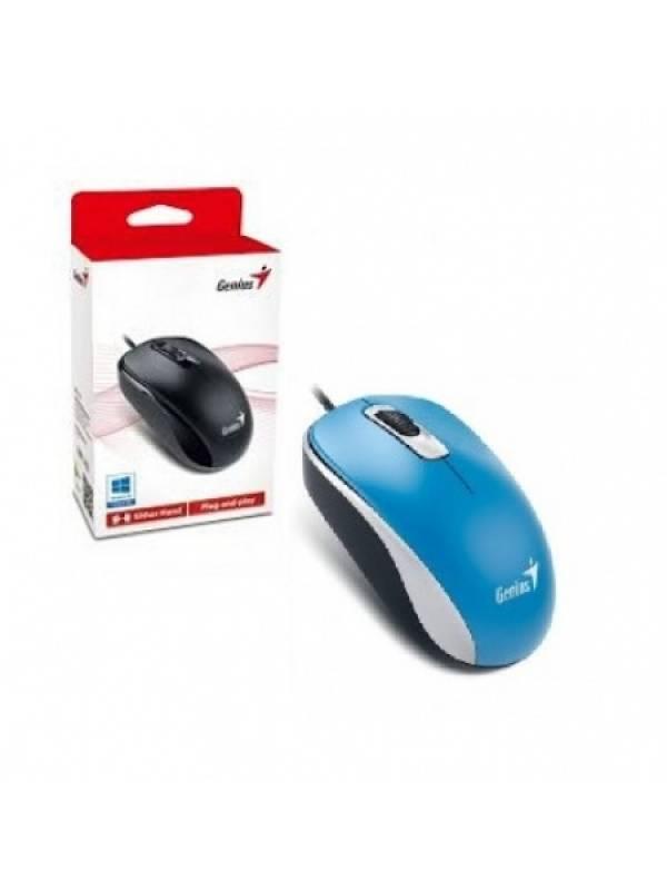 MOU95 - Mouse Genius DX-110 USB Azul