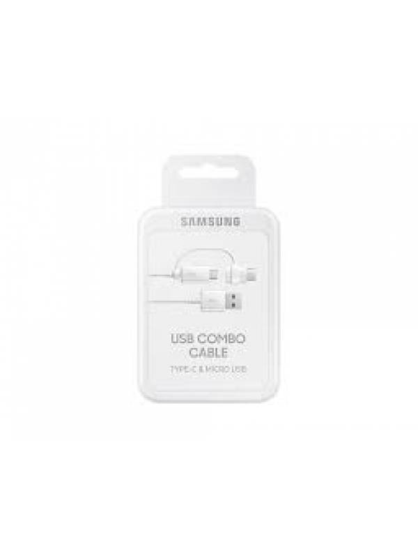 EP-DG930D - Cable de Datos Samsung 2en1 - Tipo C + microUSB (Original)
