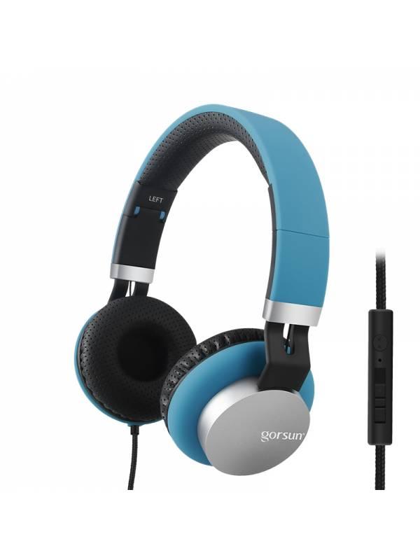 Auricular Stereo Gorsun 789 Azul