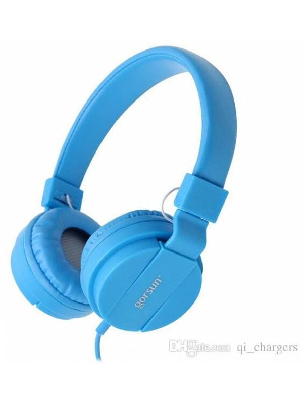 Auricular Stereo Gorsun 778 Azul