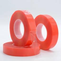 Cinta doble faz 0.5cm ca (Roja)