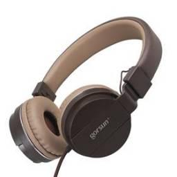 Auricular Stereo Gorsun 779 Marrón