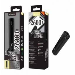 D5277 - Power Bank | 1 USB | 2.600mAh | Negro | Slim