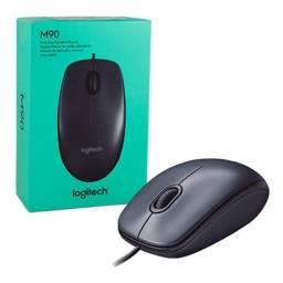MOU155 - Mouse Logitech M90 USB Negro