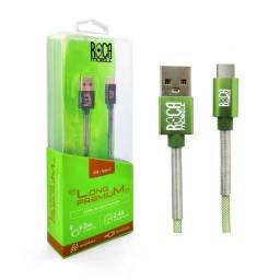 Cable de Datos ROCA Tipo C - Premium, 200cm