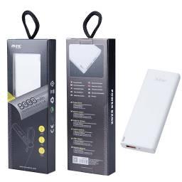 DT935 | Power Bank | 6.000mAh | 1 USB | Blanco