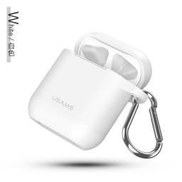 US-BH423 | Silicone case para AirPod | Blanco