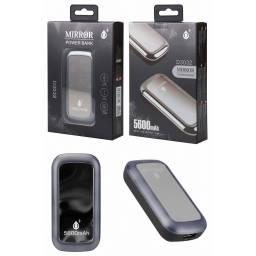 D3032 | Power Bank | 5.600mAh | 1 USB | Plateado