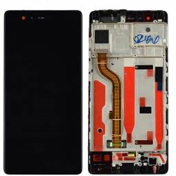 Display Huawei P9 Completo cMarco Negro (EVA-L09) Generico