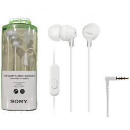 Manos Libres Stereo Sony MDR-EX15AP Blanco