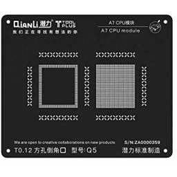 Stencil A7 QianLi Black para | CPU/RAM