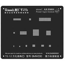 Stencil BMW330 QianLi Black para Apple iPhone 7/7 Plus | Power