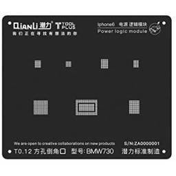 Stencil BMW730 QianLi Black para Apple iPhone 6/6 Plus | Power