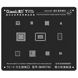 Stencil BMW740 QianLi Black para Apple iPhone 6/6 Plus | Comunicación