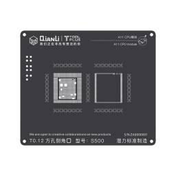 Stencil A11 QianLi 3D Black | CPU/RAM