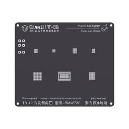 Stencil BMW730 QianLi 3D Black para Apple iPhone 6/6 Plus | Power
