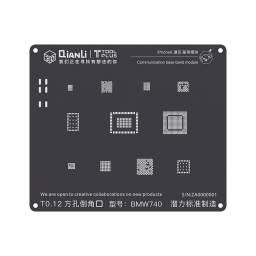 Stencil BMW740 QianLi 3D Black para Apple iPhone 6/6 Plus | Comunicación