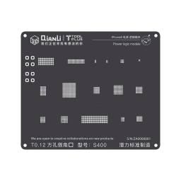 Stencil S400 QianLi 3D Black para Apple iPhone 88 PlusX | Power