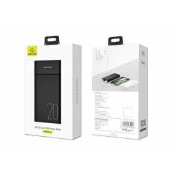 US-CD75 | Power Bank 20.000mAh | Dual USB | 2.1A | Negro