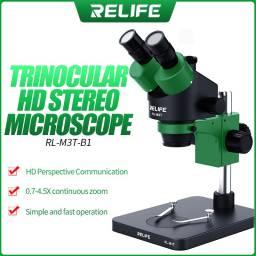Microscopio Trinocular Relife M3T-B3