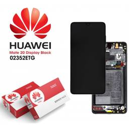 Display Huawei Mate 20 Comp c/M + Batería Negro | Original (02352ETG)