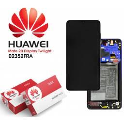 Display Huawei Mate 20 Comp c/M + Batería Violeta | Original (02352FRA)