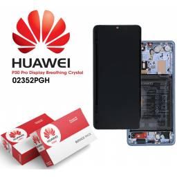 Display Huawei P30 Comp cM + Batería Celeste | Original (02352NLP)