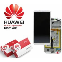Display Huawei Y6 2018/Y6 Prime Comp c/M + Batería Blanco | Original (02351WLK)