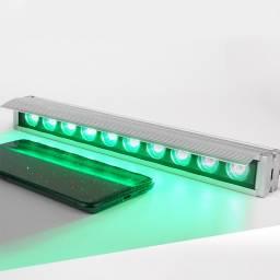 Luz LED detección de roturas y suciedad