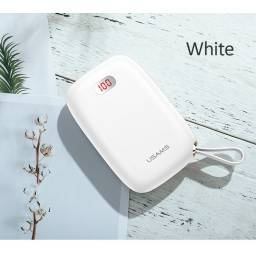 CD78 | Power Bank PB17 | 2 USB | 10.000mAh | Blanco | LCD