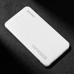CD20 | Power Bank Mosaic | 2 USB | 5.000mah | Blanco