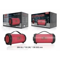 K3612 | Parlante Bluetooth | 18W+2W | Rojo | FM/SD/USB