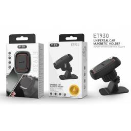 ET930 | Soporte Vehicular | Magnético/Consola | 360º | Negro