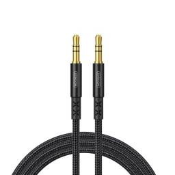 10A1 | Cable Auxiliar | 1M | Negro | 3,5 a 3,5mm | JOYROOM | SY-10A1