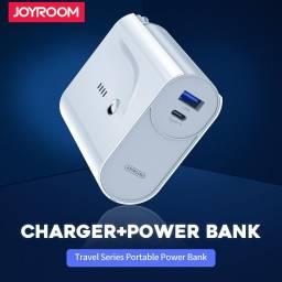 T189 | Cargador c Power Bank | 5.000mAh | 1 USB + 1 Tipo C | Blanco | JOYROOM | D-T189