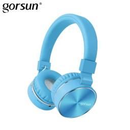 Auricular Bluetooth Gorsun E87 Azul