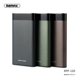 RPP-120 | Power Bank | 10.000mAh | Verde | 2 USB | Renor Series | Remax
