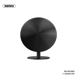 RB-M23M   Parlante Bluetooth   2x3W   Negro   Aux/USB/NFC   Remax