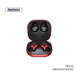 TWS-12 | Auricular Bluetooth TWS | Rojo | Remax