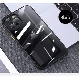 BH632 | Case | Apple iPhone 12 Pro | Negro | 6,1''/PC+TPU | Janz Series | USAMS