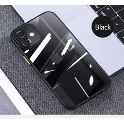 BH627   Case   Apple iPhone 12   Negro   6,1''PC+TPU   Janz Series   USAMS