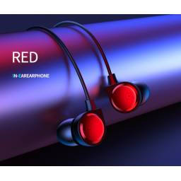 EP-40 | Auricular Stereo | 1,2M | Rojo | 3.5mm
