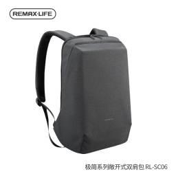 RL-SC06 | Mochila p/ Notebook | Gris Oscuro | Remax