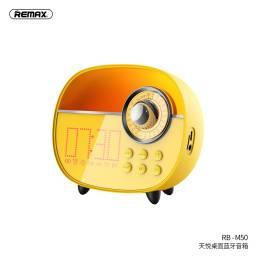 RB-M50 | Parlante Bluetooth | 3W | Amarillo | MicrófonoAlarmaAuxTFFM | Tyard Desktop | Remax