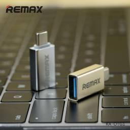 RA-OTG1 | Adaptador Tipo C a USB | Plateado | Remax