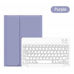 BH657 | Case c/ Teclado | Apple iPad | 10,2'' | Violeta | Winro Series