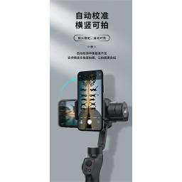 P20 | Soporte estabilizador de Imagen | 3 ejes | Celular/GoPro | Negro | Remax