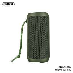 RB-M28 Pro   Parlante Bluetooth   2x8W   Verde   TWS/Aux/TF   Star Series   Remax