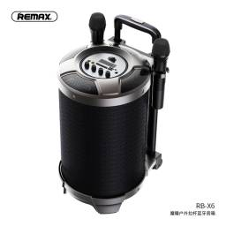 RB-X6   Parlante Bluetooth   51W   Negro   USBAuxTF   2 Micrófonos   Carro   Remax